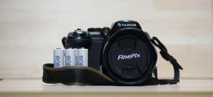 Digitalkameras mit Batteriebetrieb
