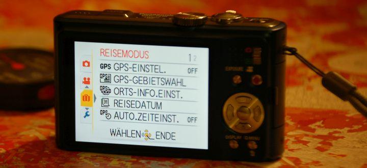 Geotagging-Kameras- Fotokameras mit GPS